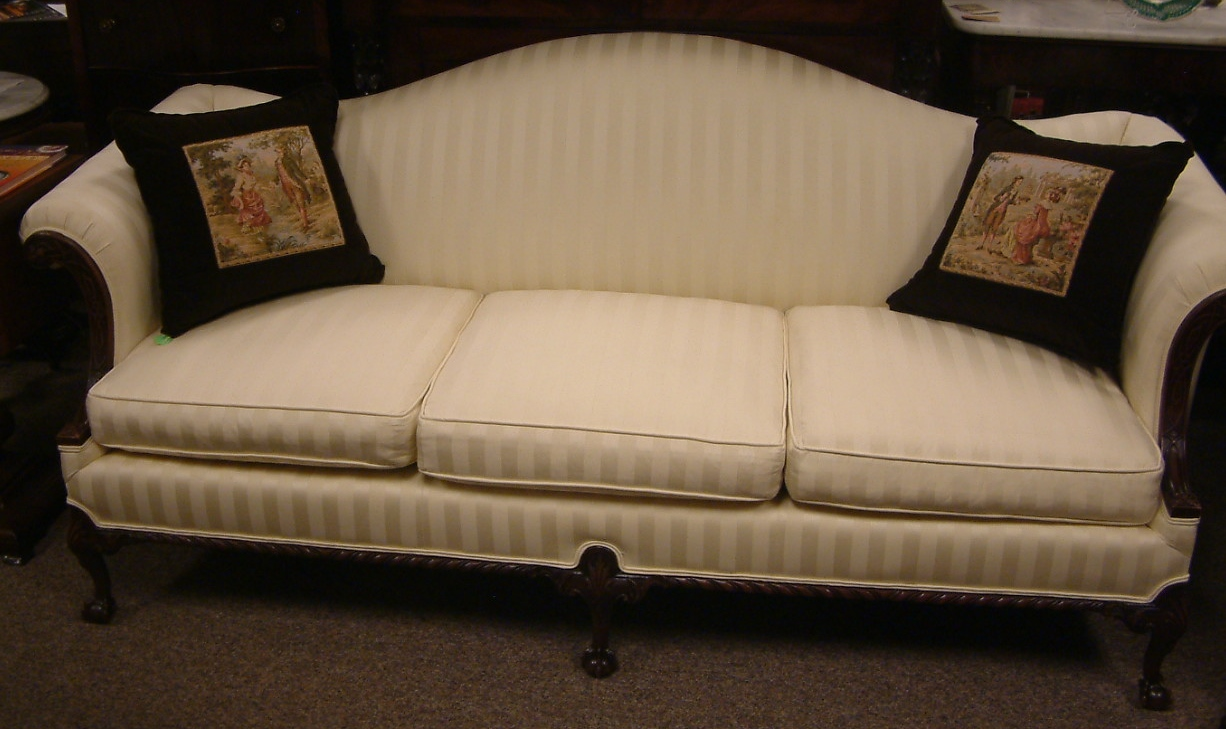 Chippendale Walnut Frame Sofa  SOLD